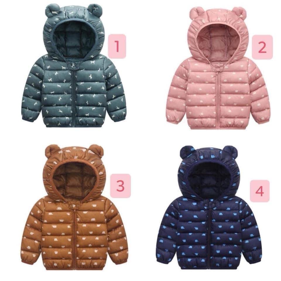 Áo phao gấu Quảng Châu mẫu mới