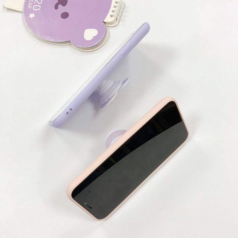 Popsocket giá đỡ điện thoại pop up trái tim in bóng đáng yêu giống Rosé BlackPink cute