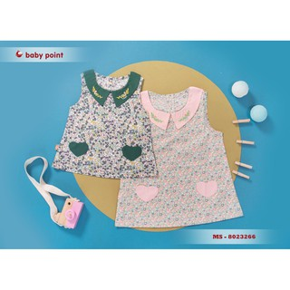 Hàng hè 2020 Váy BabyPoint cho bé size 12m - 5y, dành cho bé từ 8kg đến 20kg, chất cotton mềm mịn