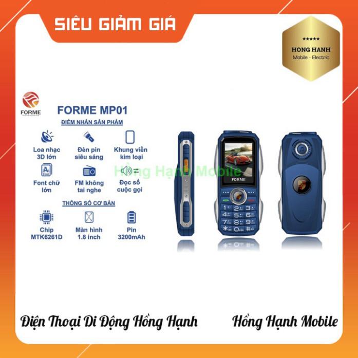 [ DEAL SỐC ] Điện Thoại Forme MP01 - Hàng Chính Hãng - Hồng Hạnh Mobile Giao Hàng Toàn Quốc