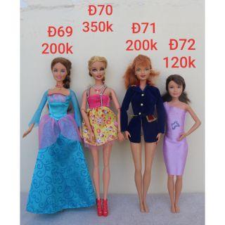 Búp bê barbie có đồ ( Đ69 _ Đ72 )