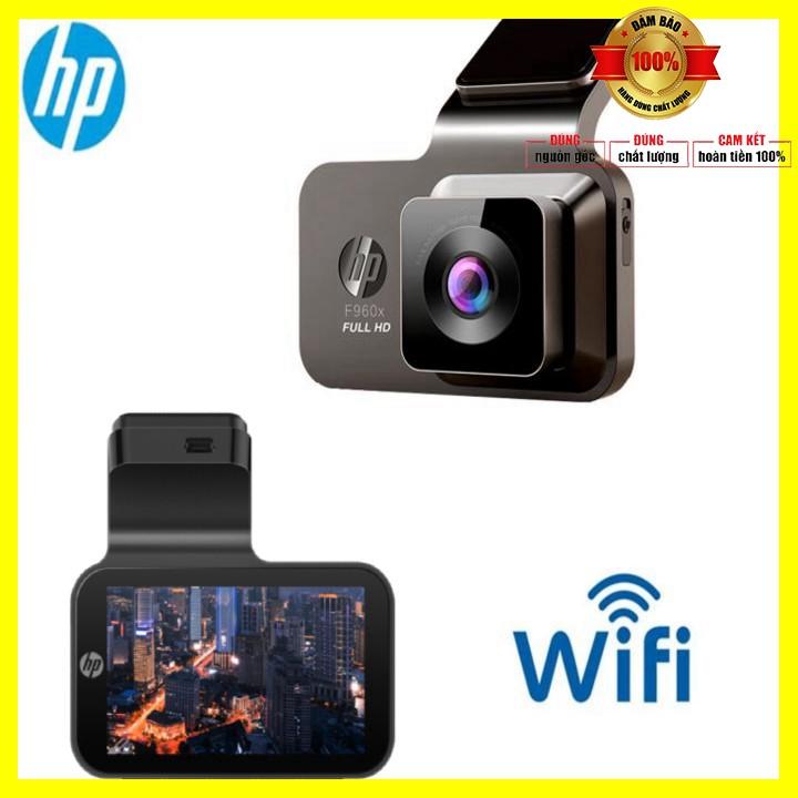 Camera hành trình ô tô, xe hơi thương hiệu HP f960x tích hợp Wifi định vị GPS - Bảo hành chính hãng 12 tháng