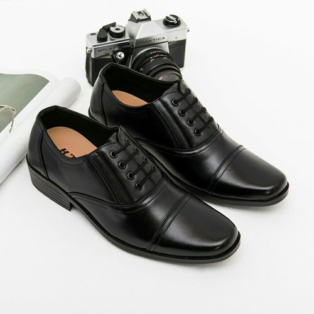 Giày tây nam kiểu giả dây ( HÀNG HỘP)