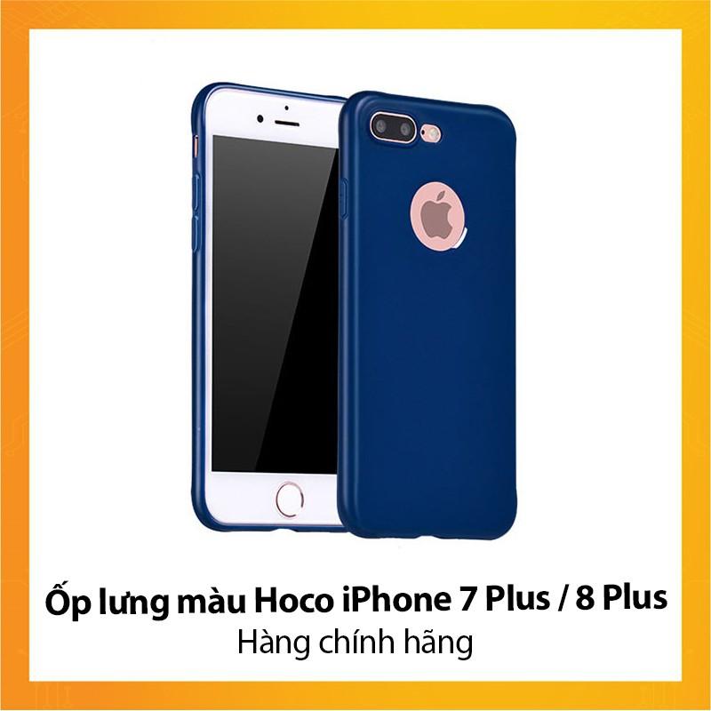 Ốp lưng màu Hoco iPhone 7 Plus iPhone 8 Plus - Hàng chính hãng