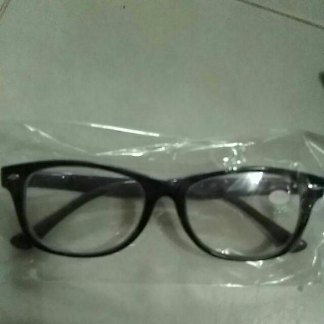 แว่นสายตาสั้น-0.5ของใหม่สีม่วง