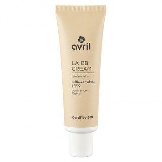 BB cream hữu cơ chống nắng spf10 Avril màu sáng (trung bình) 30ml thumbnail