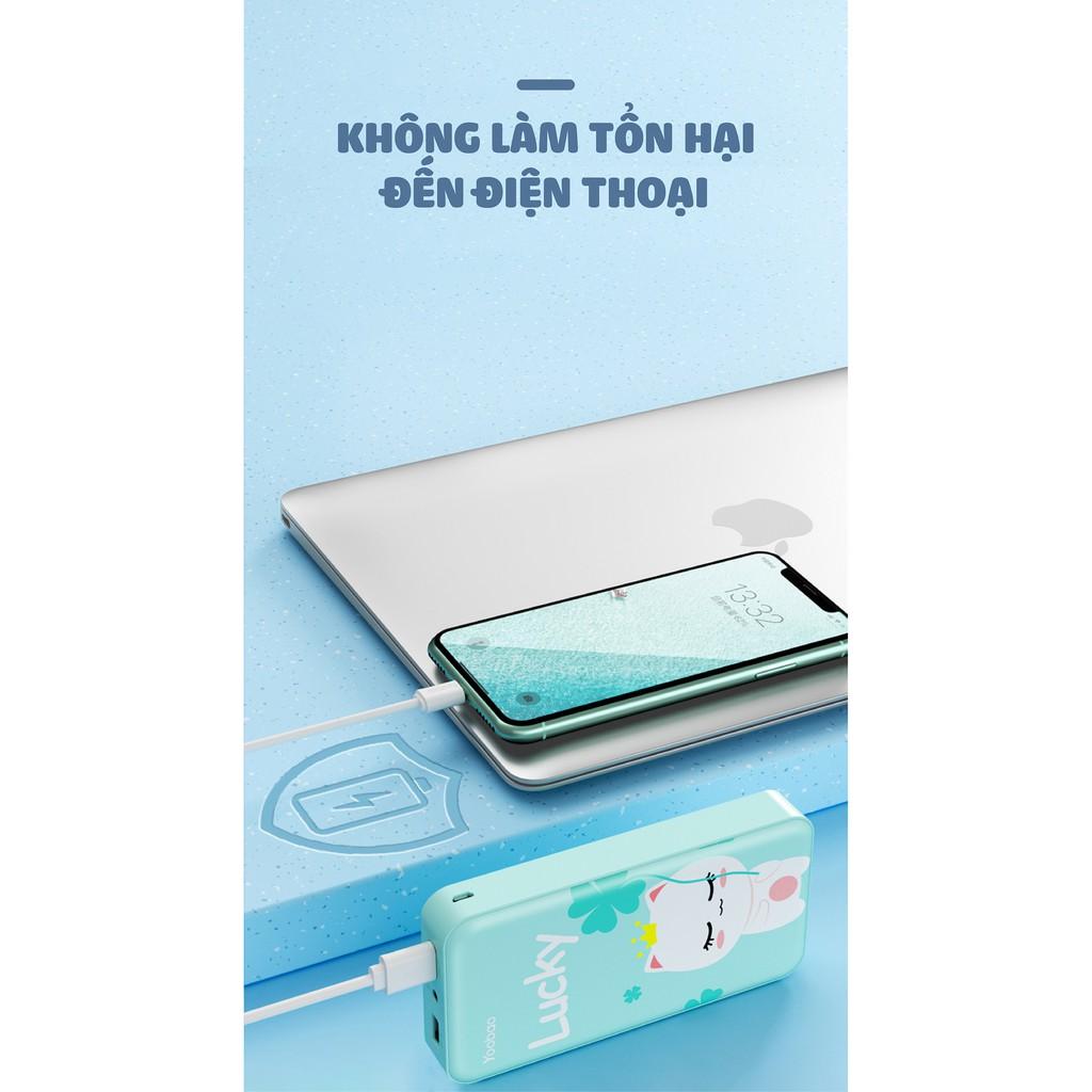 Sạc dự phòng YOOBAO S8Plus dung lượng 20000mAh chính hãng