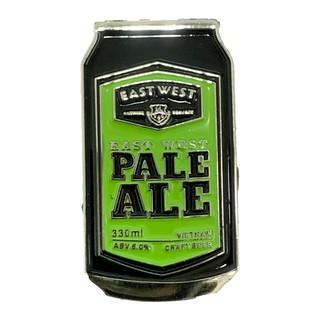Pin cài áo kim loại bia thủ công East West Pale Ale