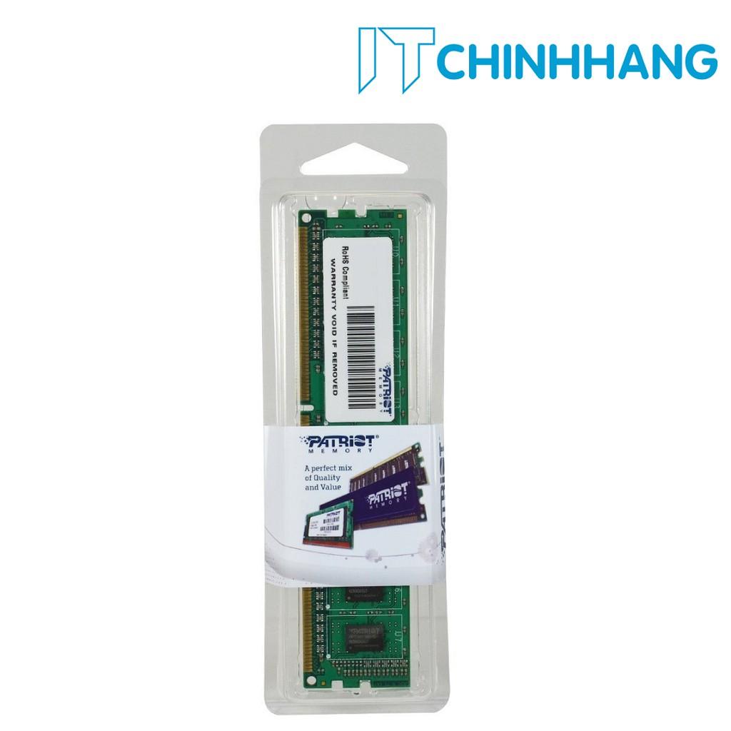RAM PATRIOT DDR3 1600MHz 8GB PC Memory (PSD38G16002) - HÃNG PHÂN PHỐI CHÍNH THỨC