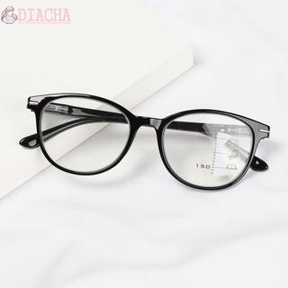 DIACHA Men Women Reading Glasses Vision Care Progressive Multifocal Presbyopia Glasses UV Protection Readers Eyeglasses Vision Diopter Blue Light Blocking Computer Goggles