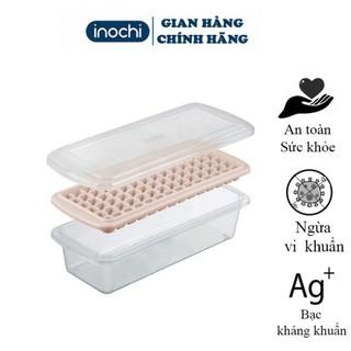 [Tặng Quà]Khay làm đá -Chất liệu an toàn kháng khuẩn chống mùi tuyệt đối, tủ lạnh 84 viên kari inochi thumbnail