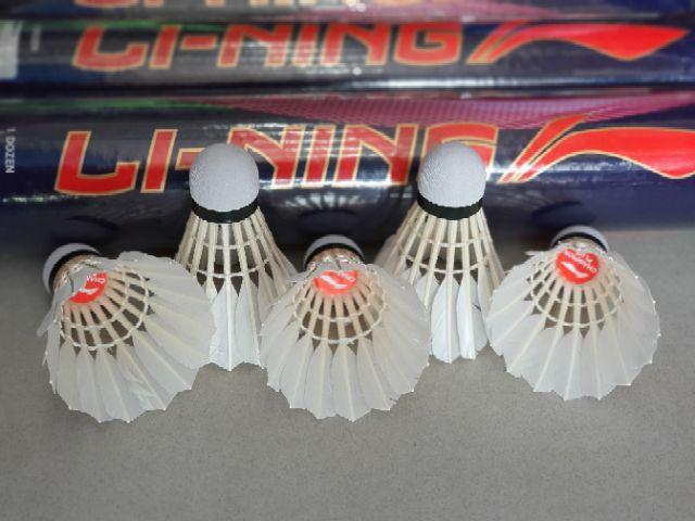 Hộp quả cầu lông LiNing thi đấu quốc tế AYQN024 (Hộp 12 quả)