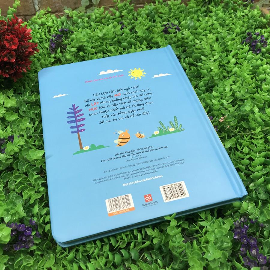 Sách - Lift The Flap - Lật Mở Khám Phá - 100 Từ Đầu Tiên Về Thế Giới Quanh Em (Tái bản 2020)