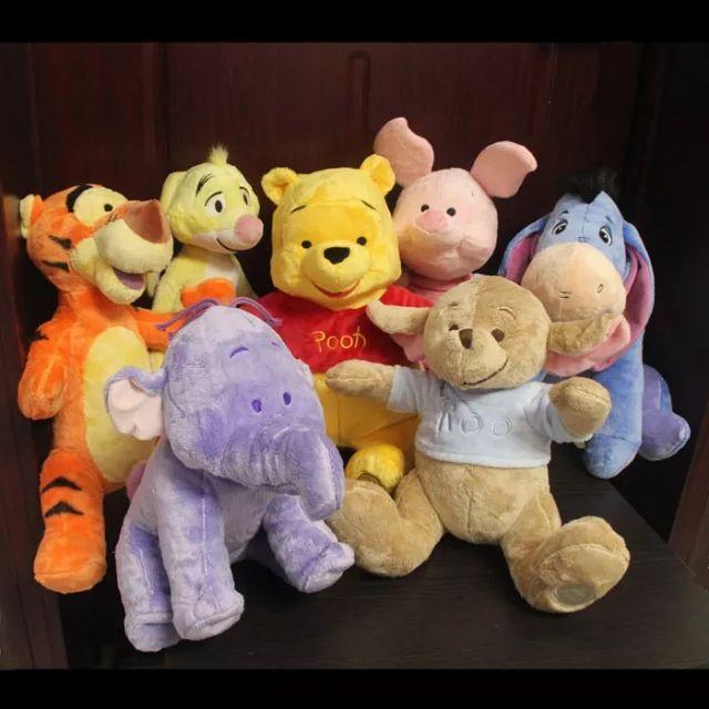 Set thú bông Pooh & những người bạn