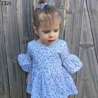 Áo váy plum cho bé