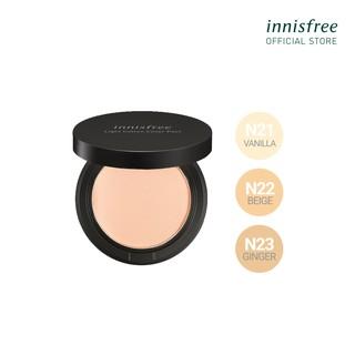 Phấn nén trang điểm mỏng nhẹ innisfree Light Cotton Cover Pact SPF30 PA+++ 12g thumbnail