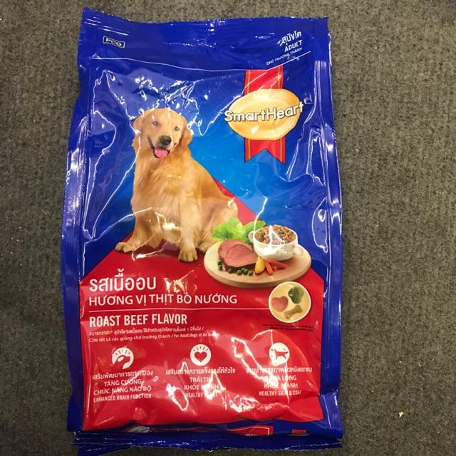 Thức ăn Smartheart chó trưởng thành vị thịt bò nướng - thức ăn hạt khô cho chó lớn (400g)   Shopee Việt Nam