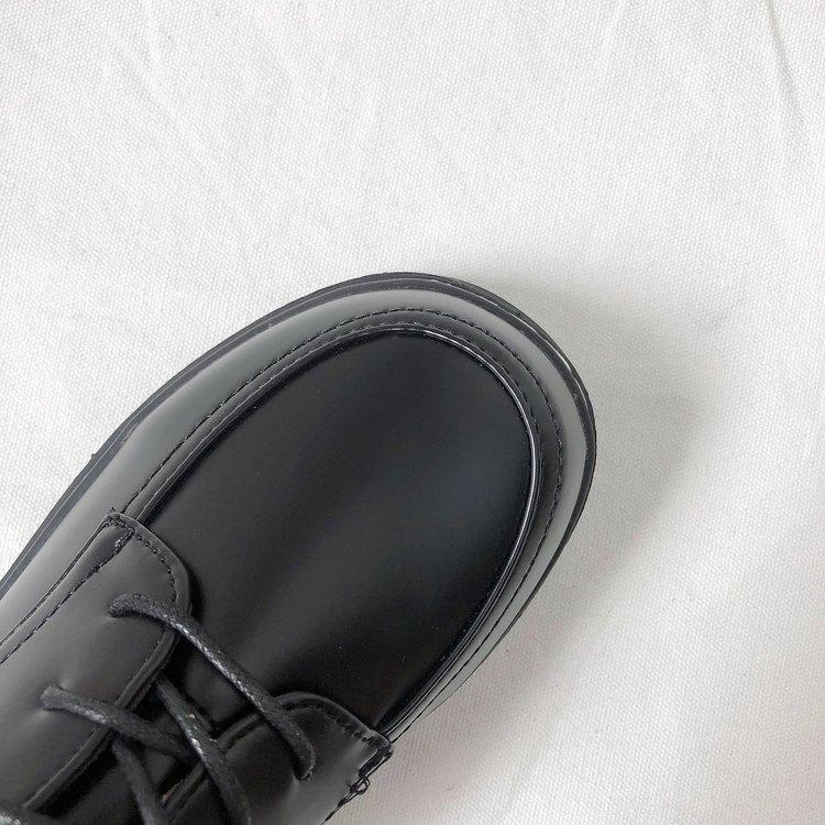 Giày Oxford Đế Dày Phối Dây Thắt Sành Điệu Cho Nữ