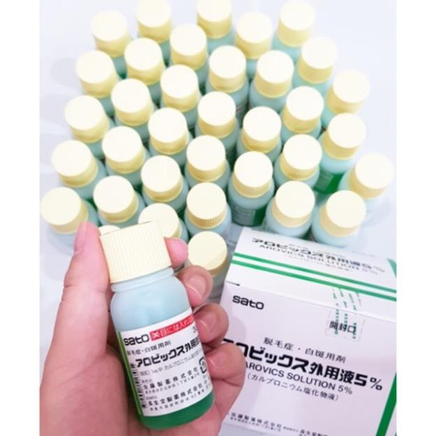 Tinh chất kích thích mọc tóc thảo dược Sato Nhật Bản 30ml, Giá tháng 10/2020