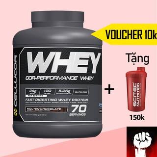 WHEY PROTEIN Cellucor Whey Cor Performance Whey 5LBS [70 Lần Dùng] Sữa Tăng Cơ Whey Protein - Chính Hãng thumbnail