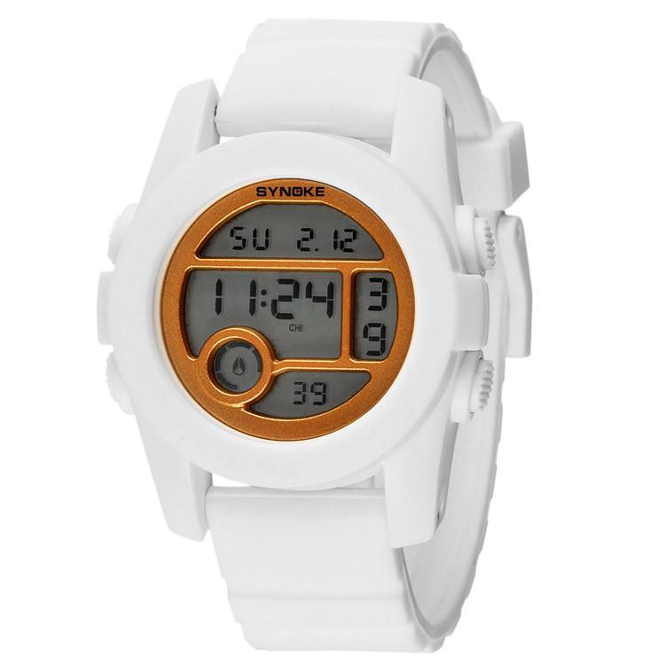 Đồng hồ trẻ em Synoke SY67286 dây cao su(Trắng)