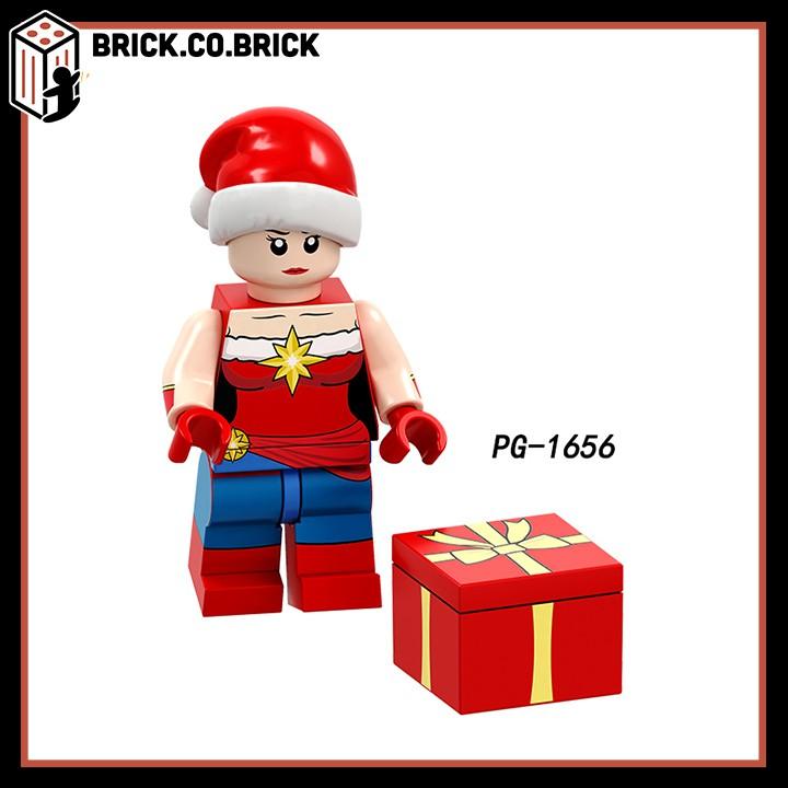 POGO 8189 (CÓ SẴN) - Các nhân vật siêu anh hùng mặc áo ông già Noel nhân dịp giáng sinh