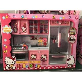 Bộ Đồ Chơi Nhà Bếp Hello Kitty Cho Bé 