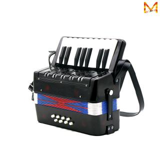 17-Key 8 Bass Mini Small Accordion Educational Musical Instrument Rhythm Band Toy for Kids Children