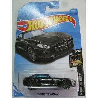 Xe Hot Wheels '15 Mercedes-AMG GT màu đen