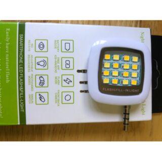 Đèn flash led gắn thêm cho điện thoại qua cổng 3.5mm