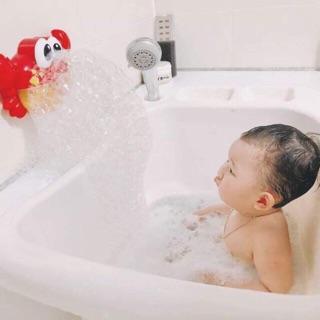 Cua tạo bọt nhà tắm cho bé
