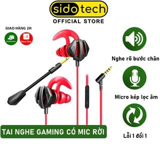 Tai nghe gaming có mic SIDOTECH G2M cho điện thoại dùng cho game thủ chơi game mobile Pubg FF Liên quân Tốc chiến ROS thumbnail