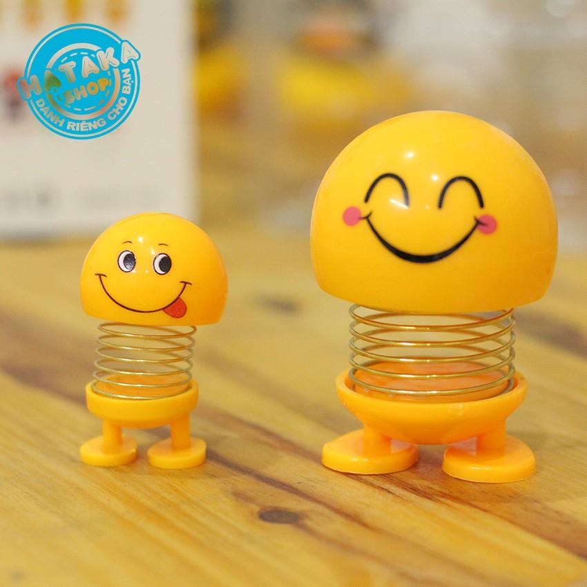 Bộ 6 con emoji MINI lò xo FULL BIỂU CẢM