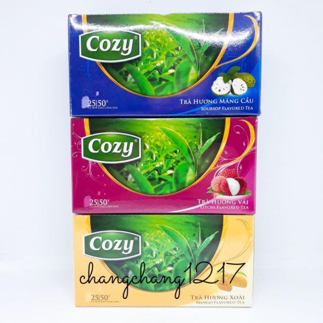 [Mùi Mới] Trà Túi Lọc Cozy 25 Gói