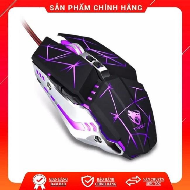 Chuột Gaming có dây T-WOLF V7