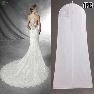 1X Garment Dress Cover Long Bridal Wedding Dresses Gown Zip Clothes Storage Bags 100% brand new and high quality
