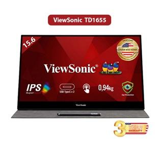 [Mã ELRE2TR giảm 6% đơn 200K] Màn Hình Di Động Viewsonic TD1655 (15.6inch FHD IPS 6.5ms 60Hz 250nits 15000hrs Touch) thumbnail