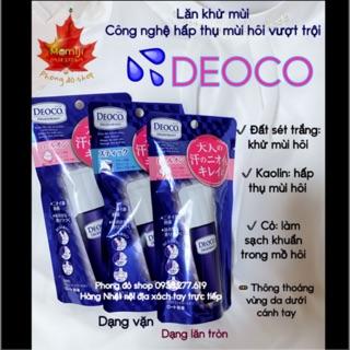 🚦🚦 Lăn khử mùi – Công nghệ hấp thụ mùi vượt trộn Deoco 🌿