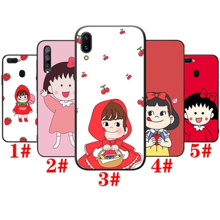 Soft Case Vivo V7 Plus V9 V11 V15 V19 V20 SE Pro Y75 Y79 Y85 Y89 PhoneCase Casing XA54 Chibi Maruko chan Silicone TPU Cover