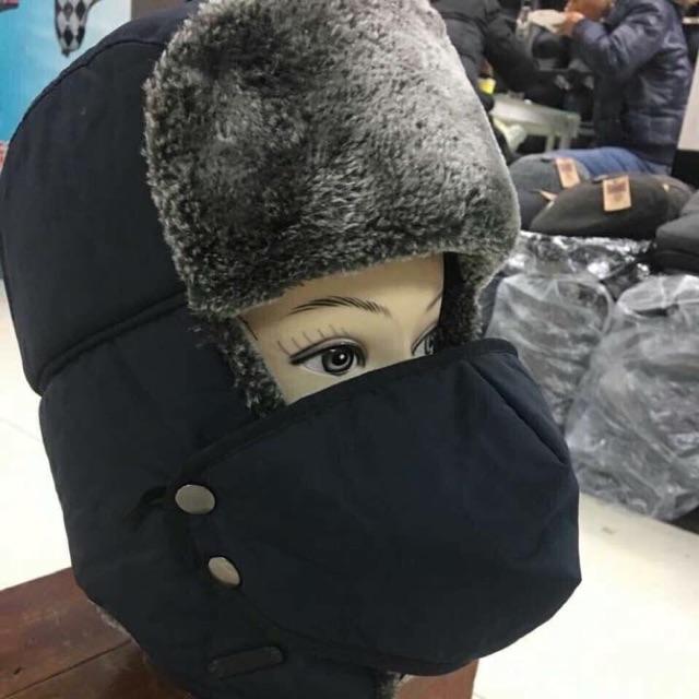 Mũ Len giữ nhiệt xuất nga
