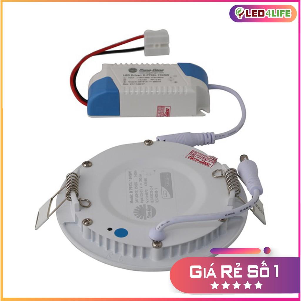 Đèn LED âm trần siêu mỏng 9W Rạng Đông D PT03L 135/9W