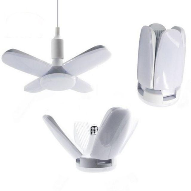 Bóng đèn led 4 cánh 65W siêu sáng ( hình cánh quạt)