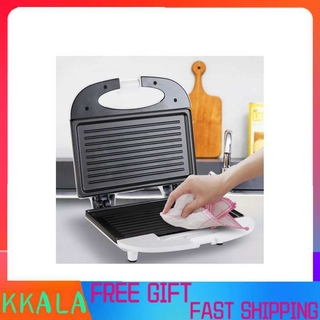 Kkala 750W Electric Sandwich Maker Toaster Automatic Breakfast Waffle Making Machine