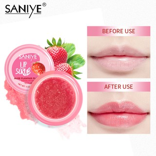 SANIYE Original LiP Scrub Moisturizing Exfoliating Cream Lip Care K1134