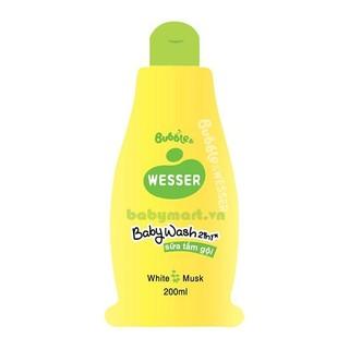 Sữa tắm gội Bubble cỏ xạ hương 200ml M012
