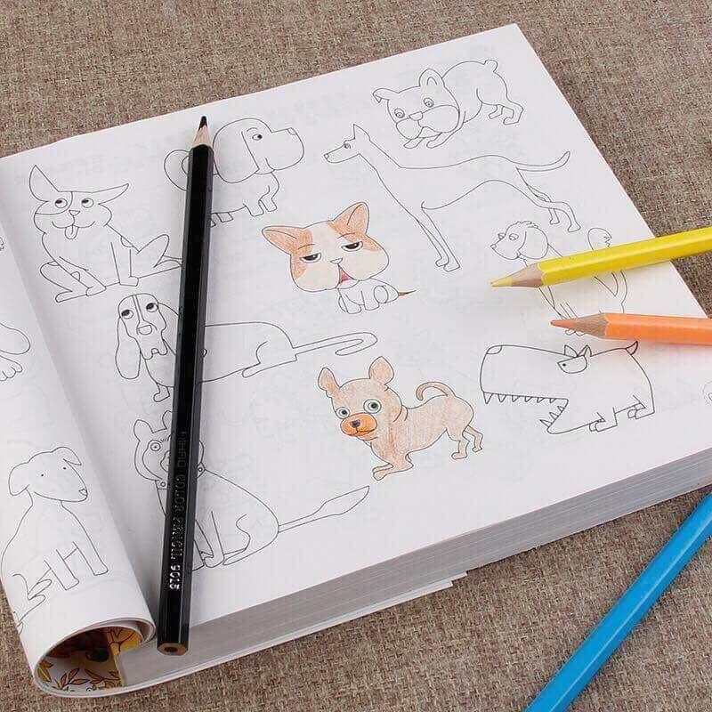 Bộ quyển tô 5000 hình vẽ tặng kèm 1 hộp 12 cây bút màu - 3601414 , 1157764207 , 322_1157764207 , 99000 , Bo-quyen-to-5000-hinh-ve-tang-kem-1-hop-12-cay-but-mau-322_1157764207 , shopee.vn , Bộ quyển tô 5000 hình vẽ tặng kèm 1 hộp 12 cây bút màu