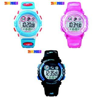 Đồng hồ bé trai và gái điện tử thể thao chống nước SKMEI