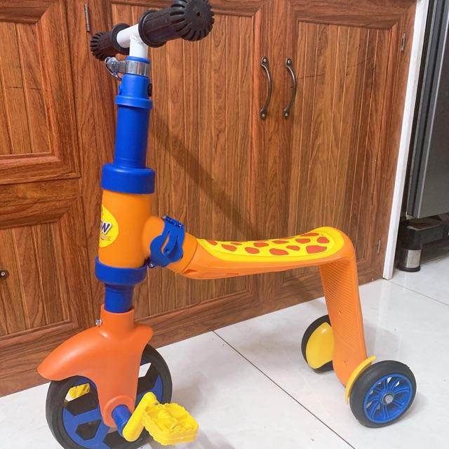 Xe cooter cho bé từ 2 đến 6 tuổi, cân nặng tối đa 35kg