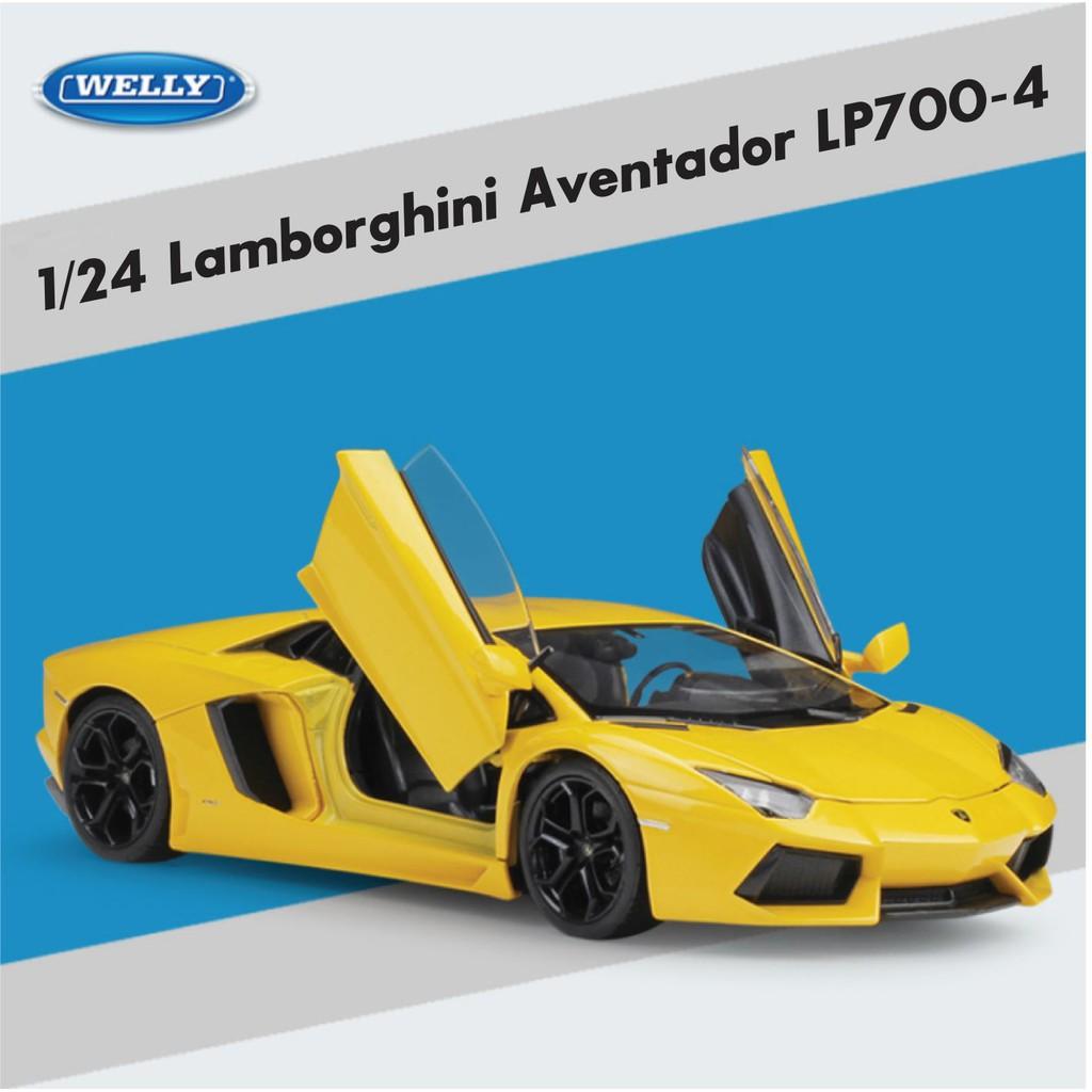 Xe mô hình Lamborghini Aventador LP700 💗 Tỉ lệ 1:24 💗