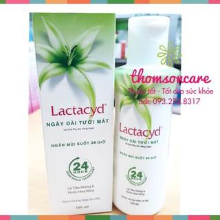 Dung dịch vệ sinh phụ nữ từ lá trầu không và nước hoa hồng Lactacyd - ddvs thumbnail